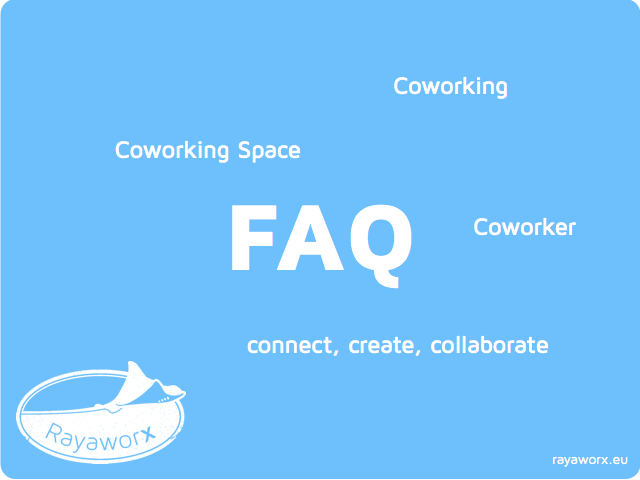 Coworking FAQ illustration