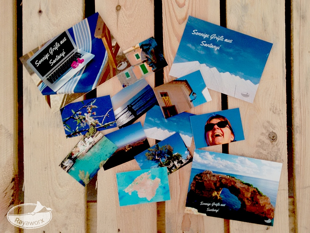 visiten karten postkarten flyer rayaworx