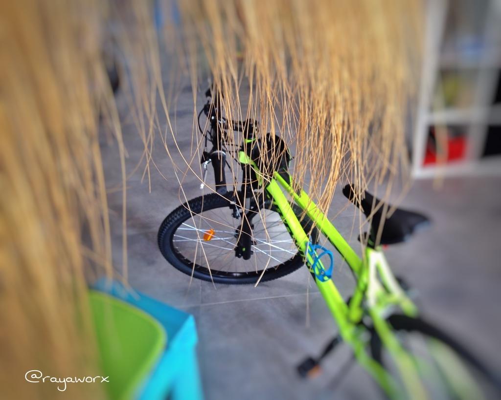 Fahrrad Rayaworx Coworking Space
