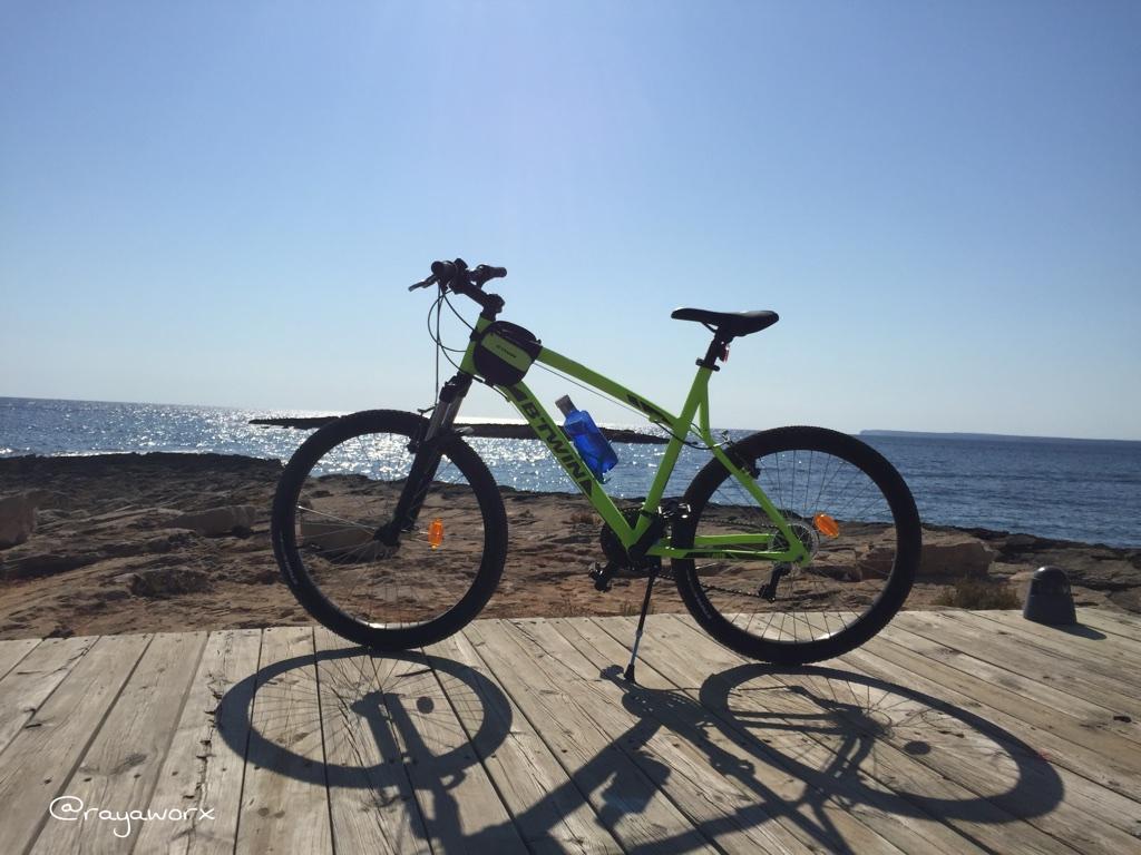 Fahrrad Rayaworx Mallorca Meerblick