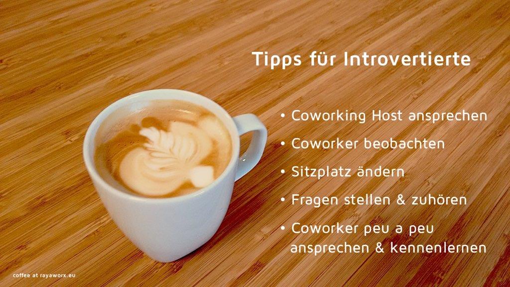 tipps coworking introvertierte