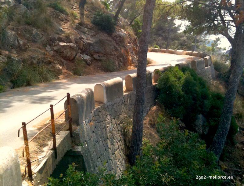 Mallorca Tramuntana Strasse
