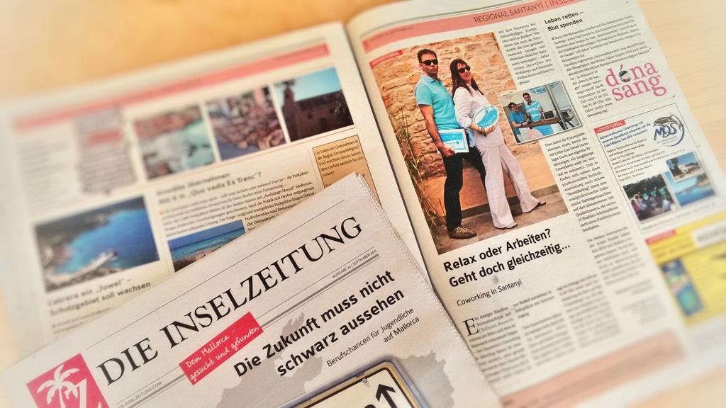 inselzeitung rayaworx coworking mallorca