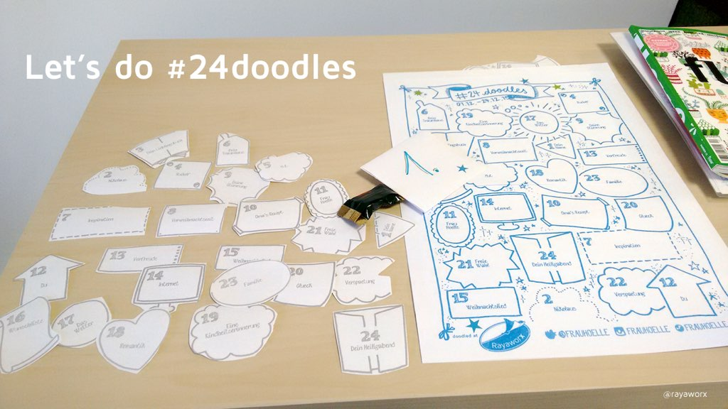 Let's do #24doodles