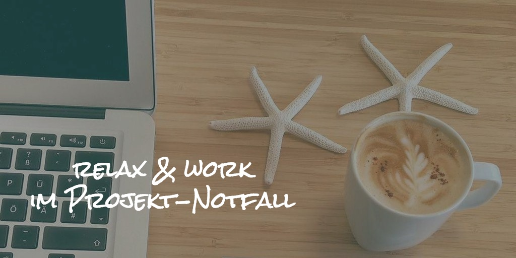 relax and work with coffee