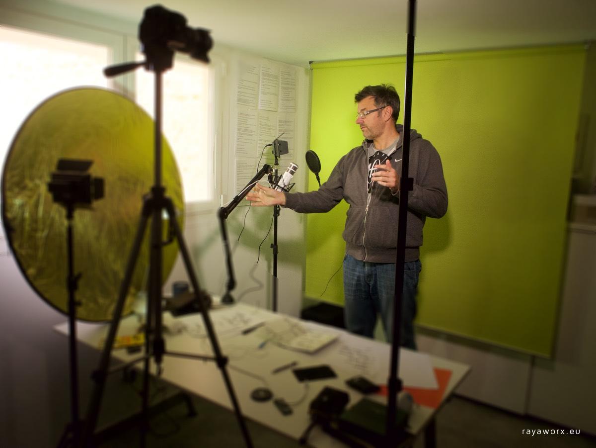 coworker podcast audio video aufzeichnung