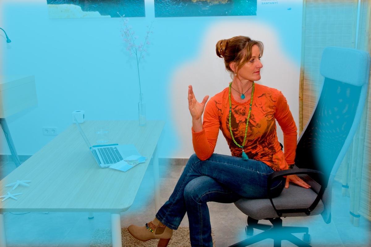 yoga laptop asana baum