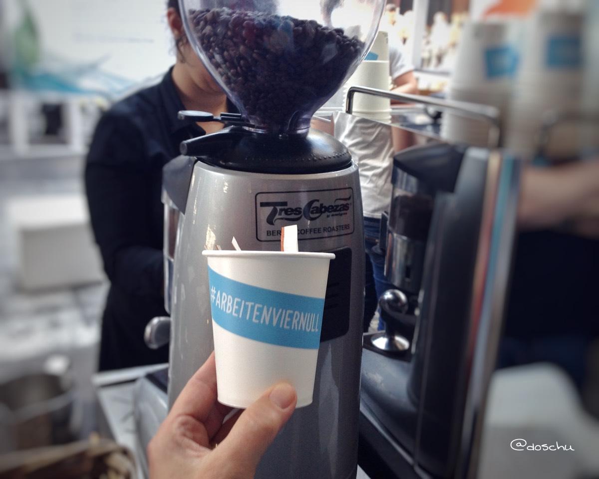 arbeitenviernull kaffee rpten