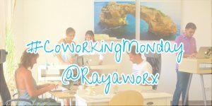 coworking monday visual rayaworx
