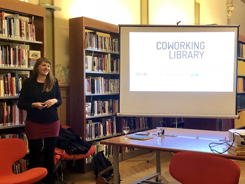 Presenting Coworking Library