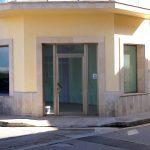 Eingang zum Ladenlokal Santanyi, Mallorca