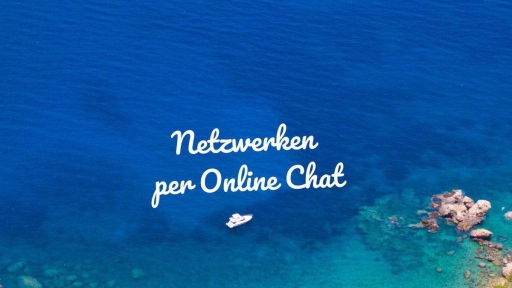 Netzwerken per Online-Chat