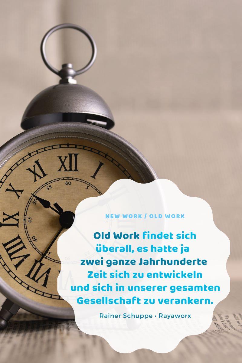 Zitat Rainer Schuppe Old Work