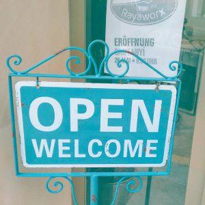 Rayaworx Open Welcome