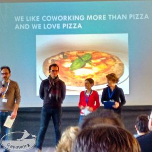 We like Coworking more than Pizza - and we love Pizza