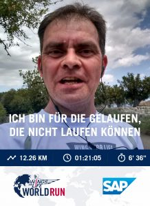 Vom Catcher Car erwischt nach 12,2 km